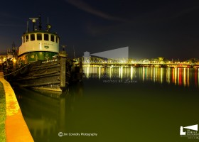 Tug boat night lights-0587